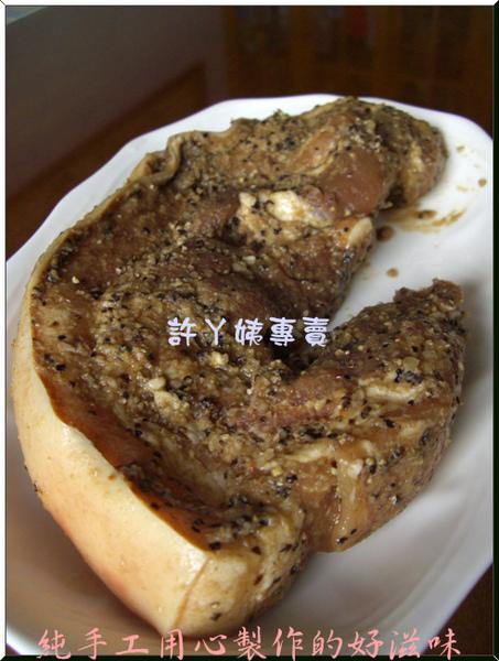 客家鹹豬肉-1