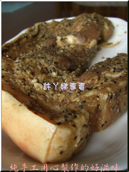 客家鹹豬肉-7