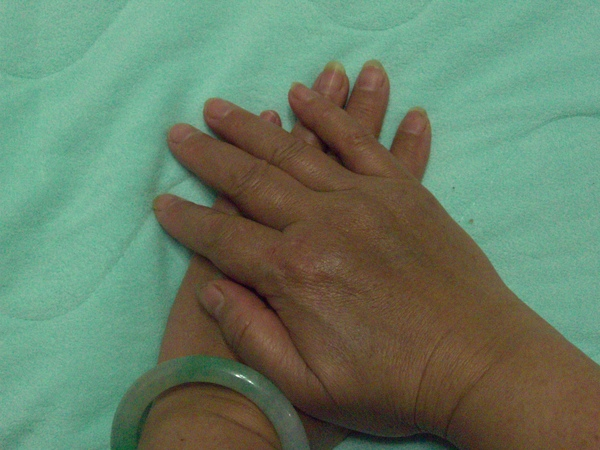 許ㄚ姨的雙手