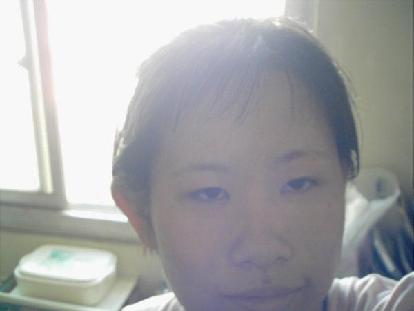 剪頭髮後2