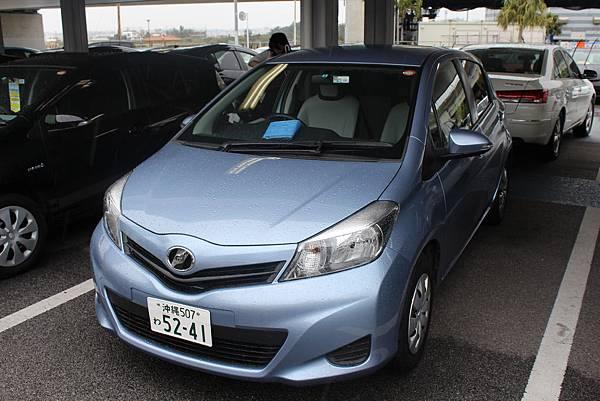陪我征戰沖繩的小藍,他還蠻好開的,而且日本的GPS太威猛了!!!