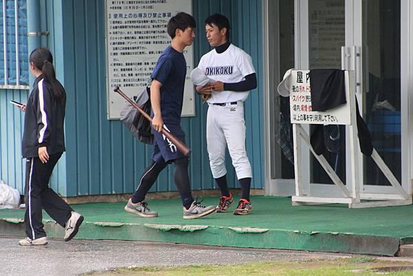 沖繩國際大學的選手~