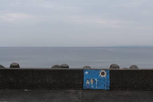 宜野灣球場旁的海邊。