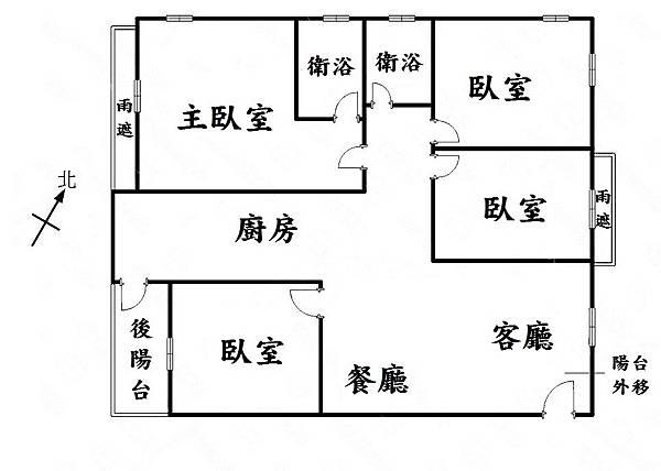 臻觀四房格局圖.JPG