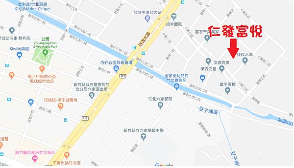仁發富悅建案位置圖google.png