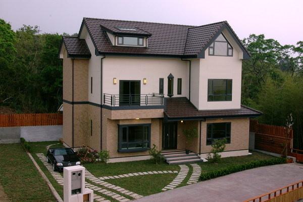 鄉情日式綠建築休閒別墅