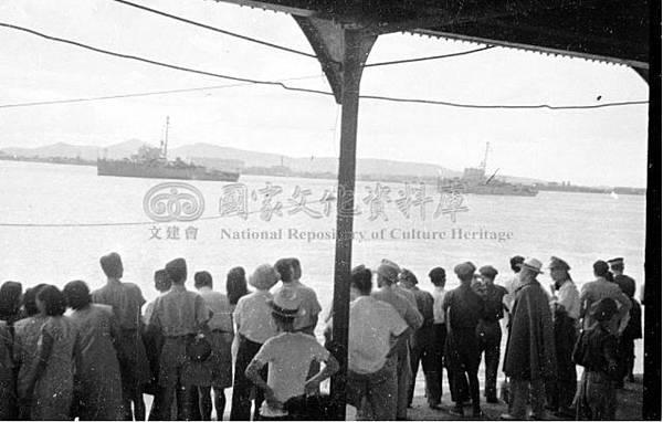 新艦隊抵京25.35年7月20