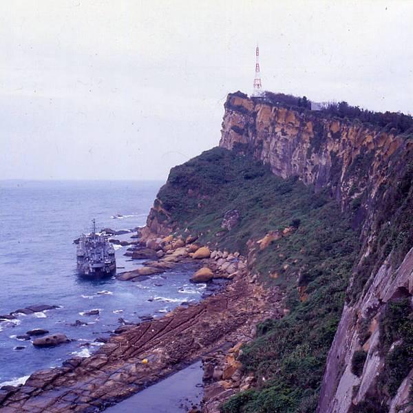 1995年LST-222擱淺在野柳03