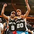 Spurs Celebration (06-07)