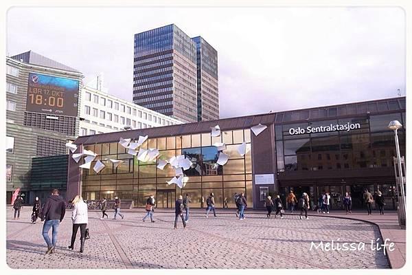 【挪威●奧斯陸OSLO】DAY1-DAY2參觀諾貝爾和平中心、市政廳●前往國立美術館看孟克的「吶喊」●皇宮衛兵交接●體驗畢爾根高速列車前往佛斯