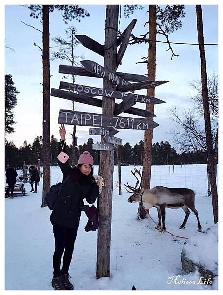 【芬蘭●拉普蘭LAPLAND】DAY2-Inari reindeer farm●伊納里-麋鹿農場乘坐雪橇●關於芬蘭-極光時尚保暖穿搭