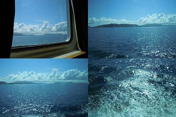 艙窗外的風景