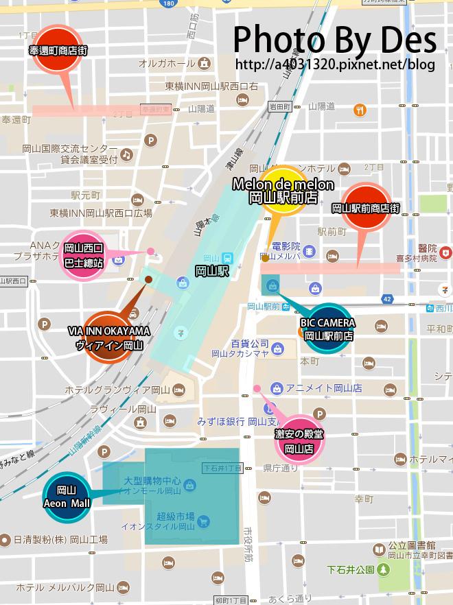 岡山波羅麵包MAP.jpg