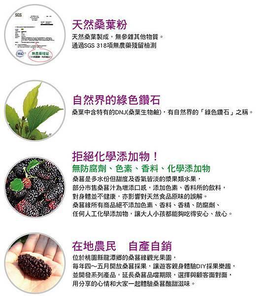 天然桑葉粉(桑葚緣觀光果園)