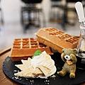 窩客島-卡琳-古早味麵茶麻糬鬆餅