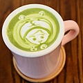 窩客島-卡琳-手作鮮奶茶  京都抹茶歐蕾