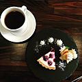 instagram-shingfing-藍莓起士乳酪搭美式熱咖啡