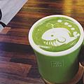 京都宇治抹茶歐蕾-鯨魚拉花 instagram-mmchouchou