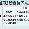 華碩.和碩釋股案接下來進度概況(2357&4938)