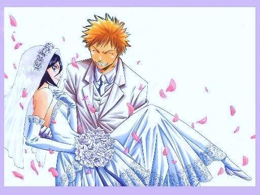 Bleach死神 - 一護 和 露琪亞的婚禮.jpg