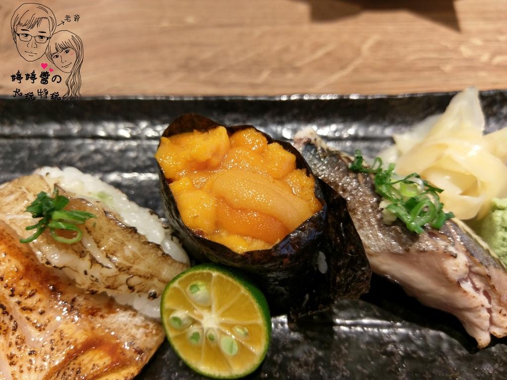 百魚鮮食屋加拿大海膽握壽司