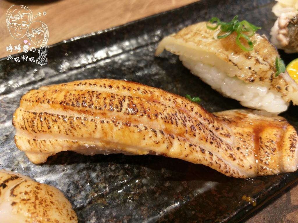百魚鮮食屋炙燒鮭魚肚握壽司