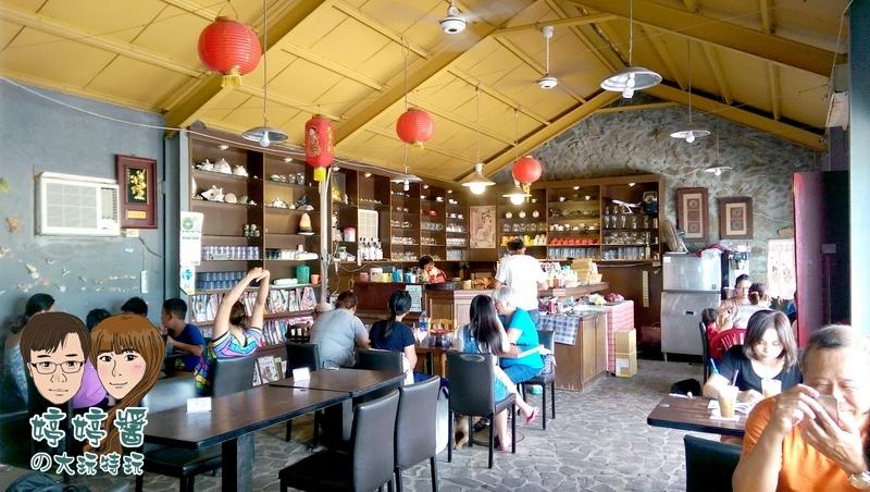 黃金咖啡海岸座位店內環境