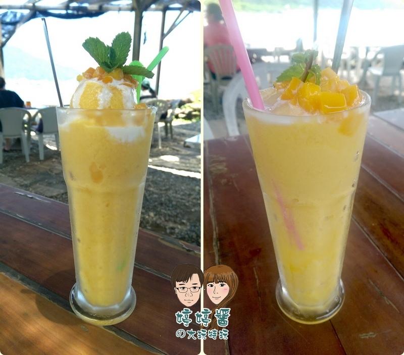 黃金咖啡海岸芒果冰沙