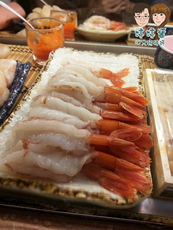 合掌村日式料理天使紅蝦