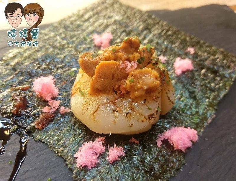 合掌村日式料理干貝海膽