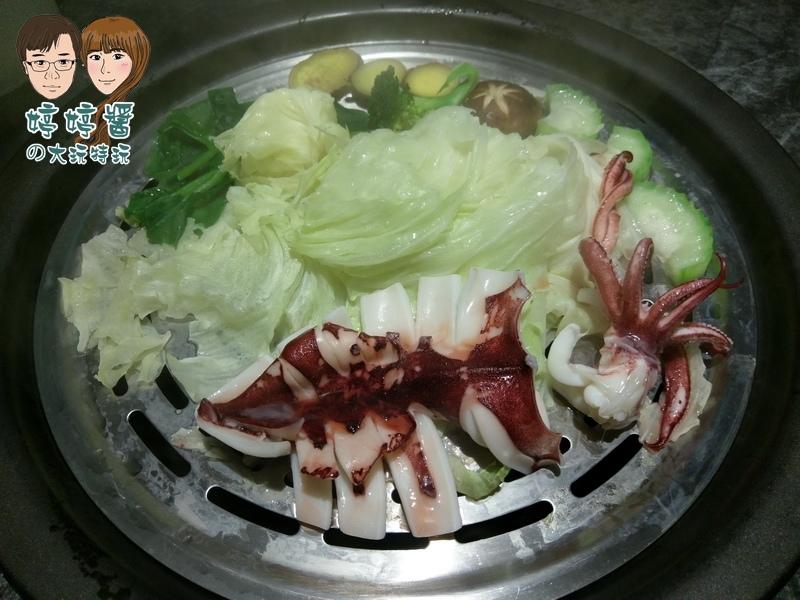 漉海鮮澎湖冰卷高麗菜皇宮菜絲瓜栗子番薯香菇