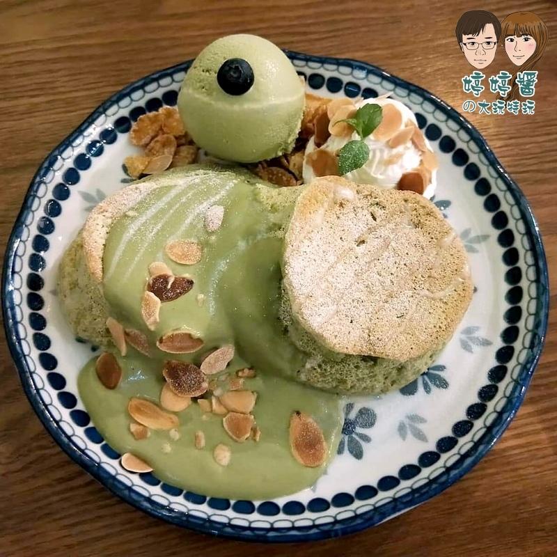 楽麥樂麥舒芙蕾製造所靜岡抹茶舒芙蕾鬆餅
