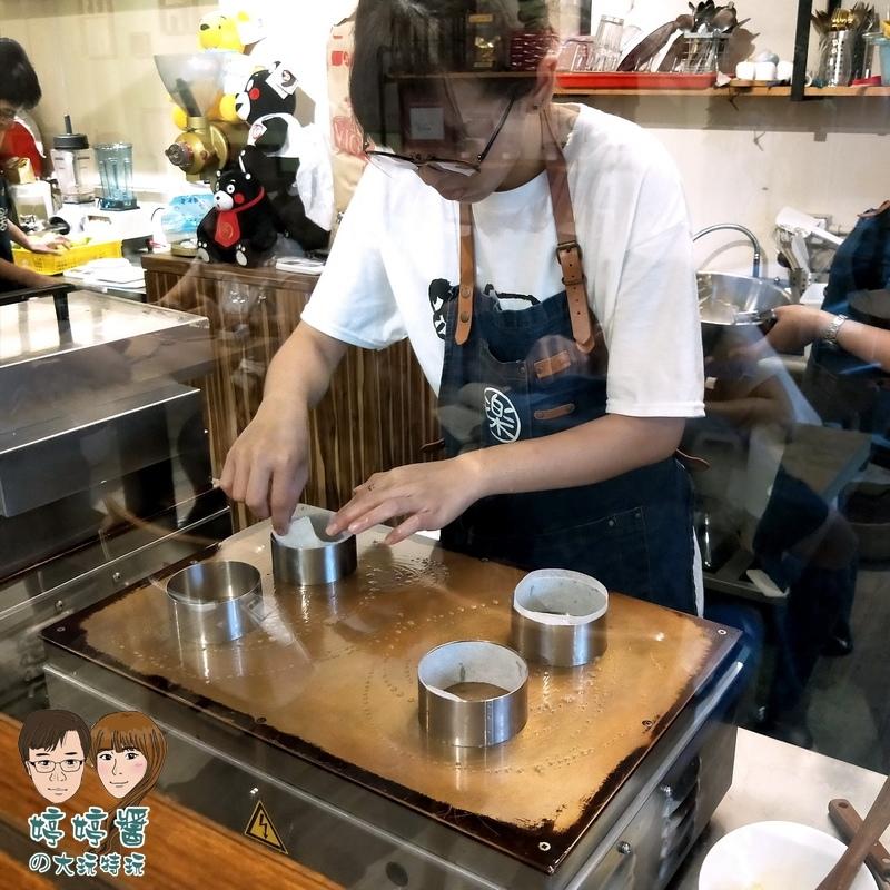 楽麥樂麥舒芙蕾製造所 抹茶舒芙蕾鬆餅製作過程