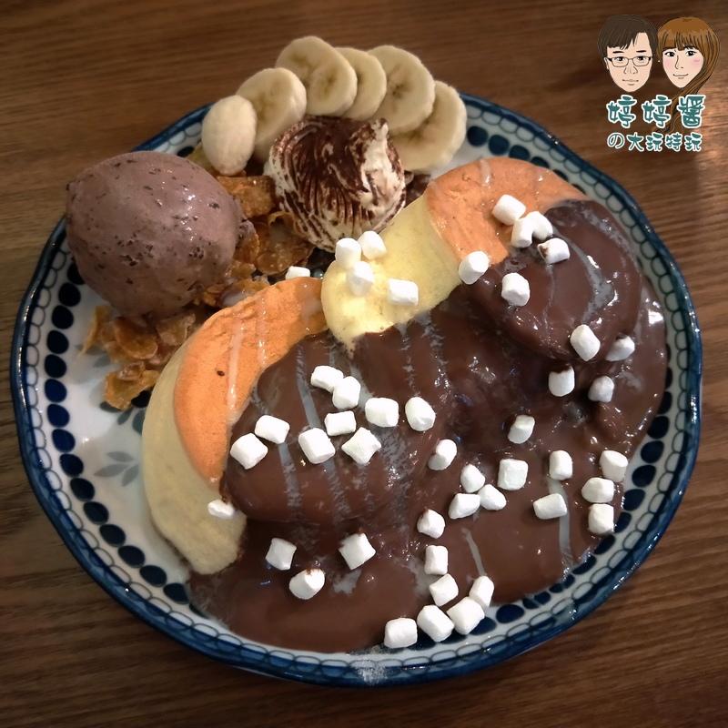 楽麥樂麥舒芙蕾製造所法芙娜巧克力舒芙蕾鬆餅