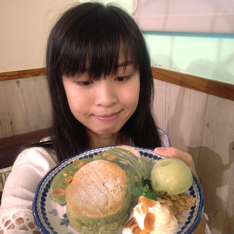 楽麥樂麥舒芙蕾製造所 靜岡抹茶舒芙蕾鬆餅