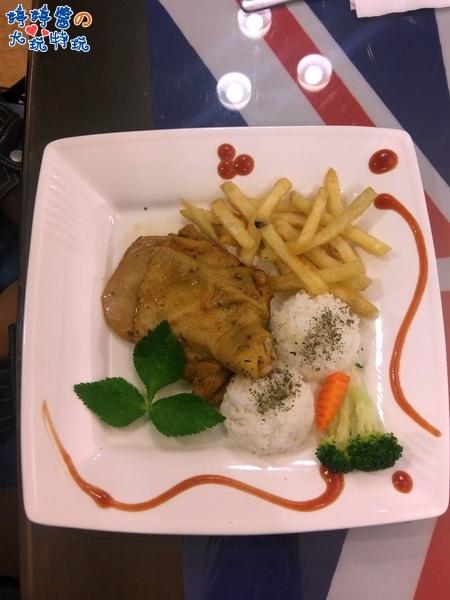 苗栗岩川莊園餐廳菜單menu排餐迷迭香雞腿排