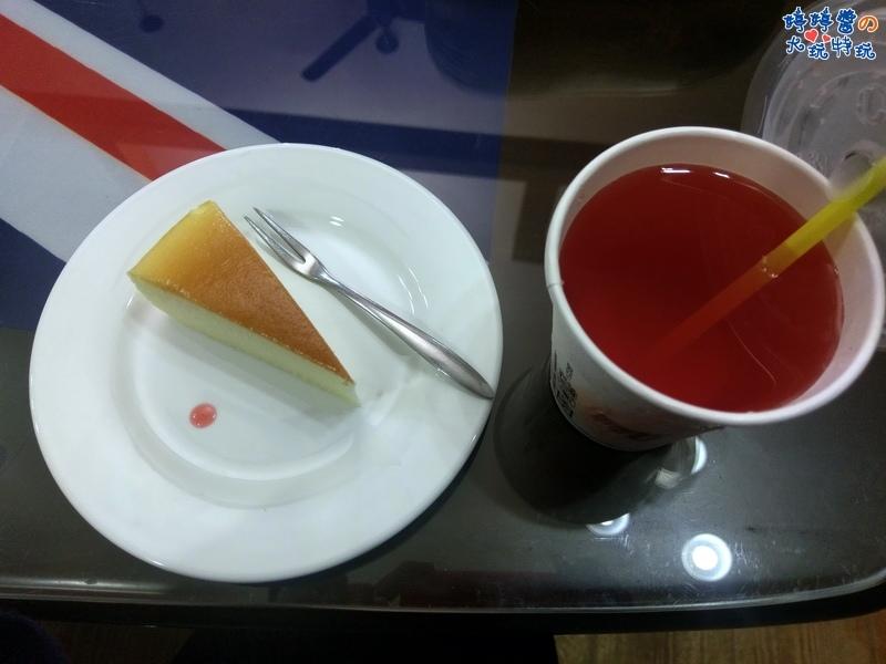 苗栗岩川莊園餐廳菜單menu排餐附餐甜點起司蛋糕飲料洛神花茶