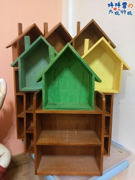 苗栗岩川莊園餐廳櫃檯佈景房子造型置物櫃