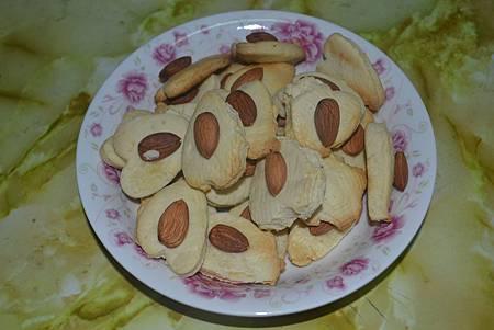 杏仁乾果餅乾