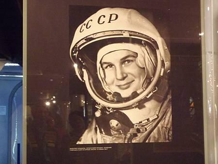 第一個女太空人