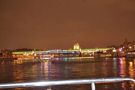 莫斯科河夜景
