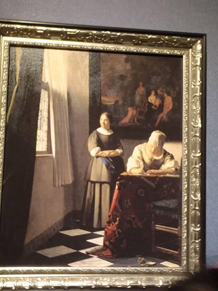 寫信女孩與女傭
