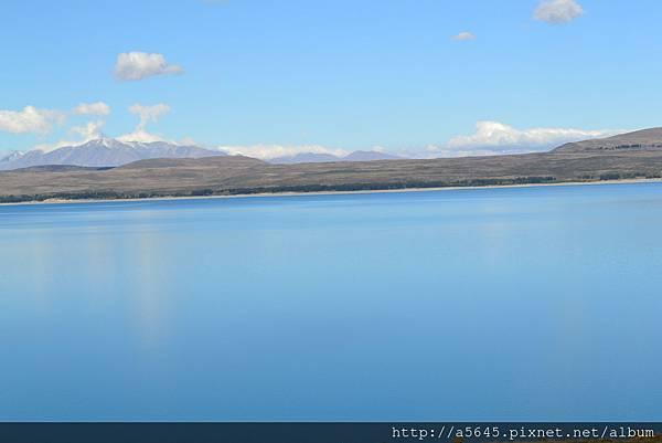 第卡坡冰河湖留影
