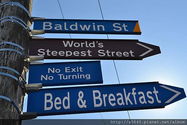 鮑德溫街招牌