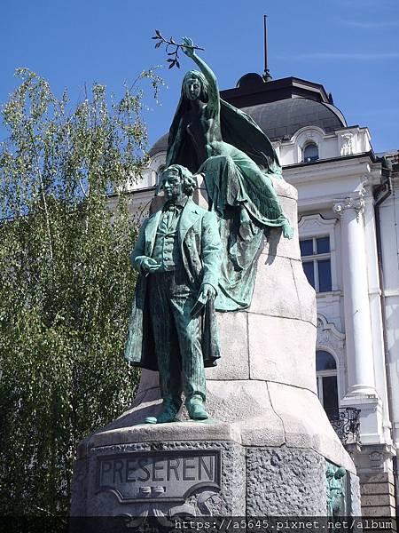 『普雷雪倫紀念雕像