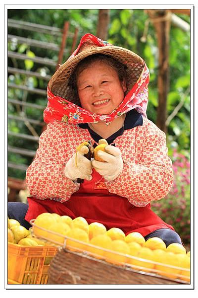 柿餅婆的笑容