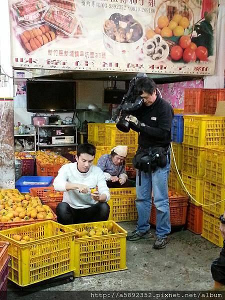 """2012.11.29 從新加坡來拍攝的節目""""好男人好料理"""" 錄影中..."""