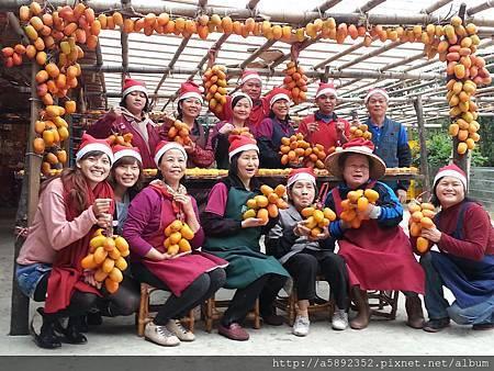 """歡樂耶誕 滿滿皆""""柿"""""""