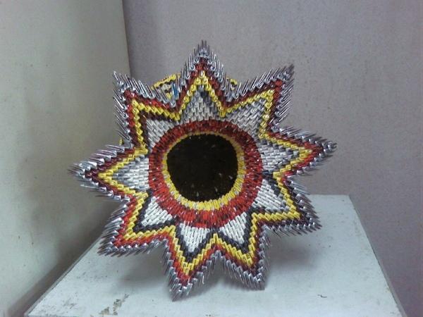 三角摺紙作品集