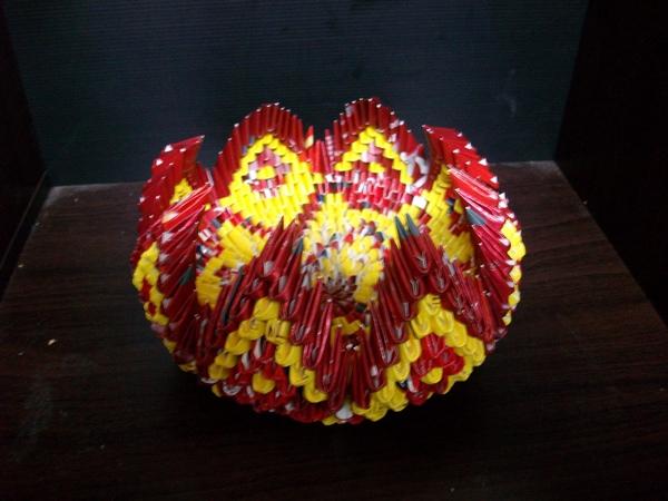 三角摺紙-小型置物籃